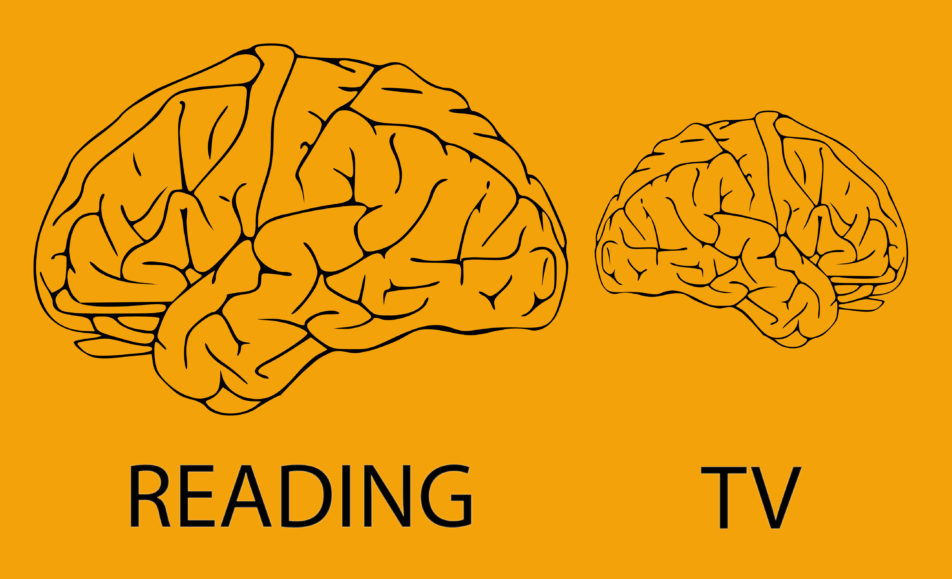 Forget Reading, You Should Watch More TV!